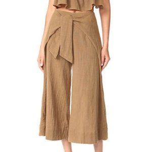 Free People Brown Tropic Babe Pants - Size 0